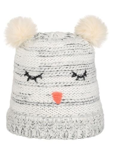 Nordbron Furry Beanie Şapka Beyaz